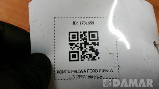 96FPCA POMPA PALIWA FORD FIESTA 1.3 1997r