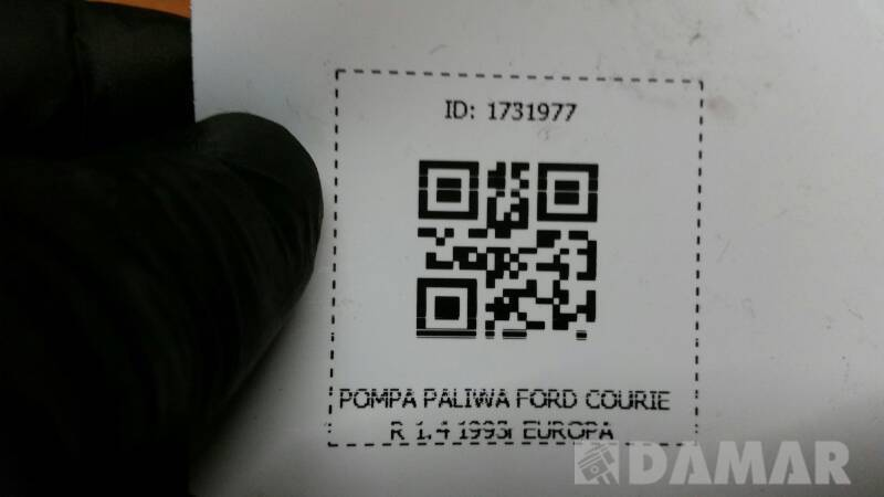 POMPA PALIWA FORD COURIER 1.4 1993r EUROPA