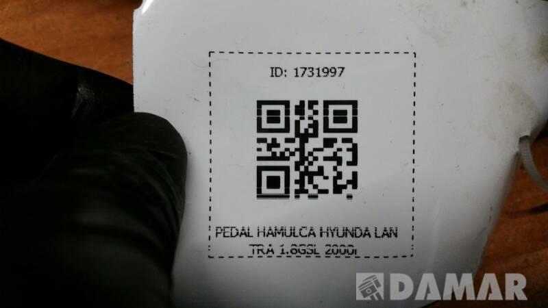 PEDAL HAMULCA HYUNDAI LANTRA 1.8GSL 2000r
