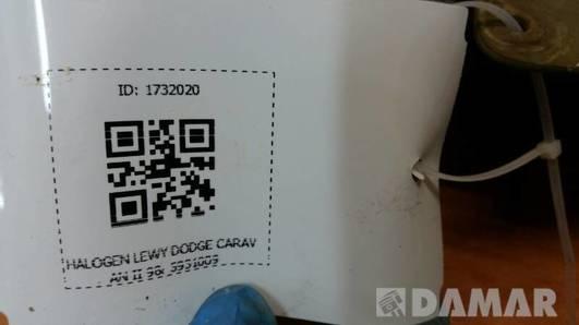 5931009 HALOGEN LEWY DODGE CARAVAN II 98r