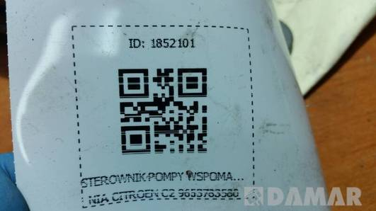 9653783580 STEROWNIK POMPY WSPOMAGANIA CITROEN C2