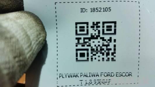 PLYWAK PALIWA FORD ESCORT 1.8 93BBAF