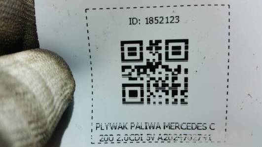 A2024702741 PLYWAK PALIWA MERCEDES C200 2.0CDI 5V
