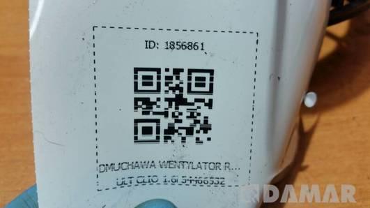 DMUCHAWA WENTYLATOR RENAULT CLIO 1.6i 54466532