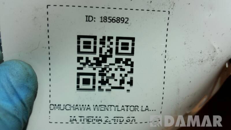 DMUCHAWA WENTYLATOR LANCIA THEMA 2.4TD 87r