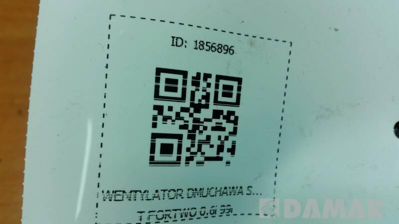 0130101113 DMUCHAWA SMART FORTWO 0.6i 99r
