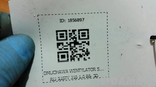 DMUCHAWA WENTYLATOR SUBARU JUSTY J10 1.0 88r 3D