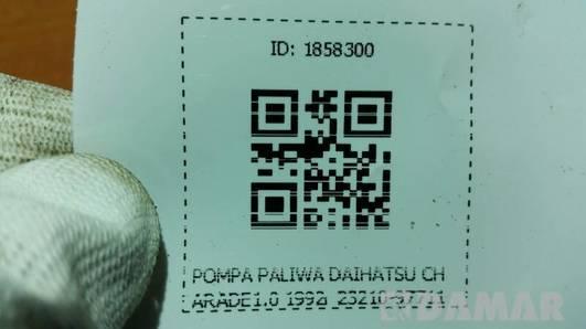 POMPA PALIWA DAIHATSU CHARADE 1.0 1992 23210-87711