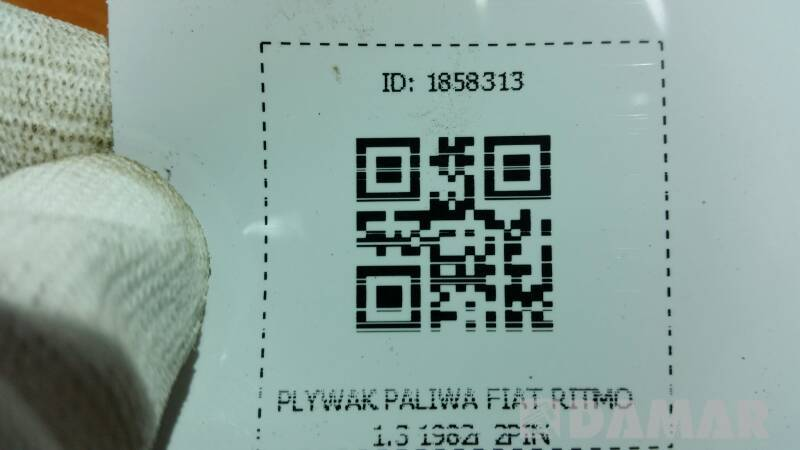 PLYWAK PALIWA FIAT RITMO 1.3 1982r 2PIN