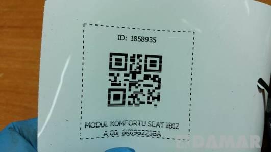 6K0962258A MODUL KOMFORTU SEAT IBIZA 00r