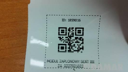 0227921022 MODUL ZAPLONOWY SEAT IBIZA