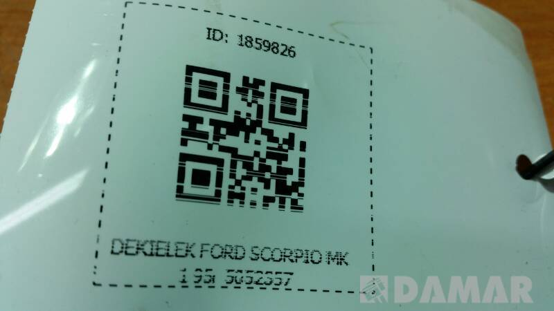 5052357 DEKIELEK FORD SCORPIO MK1 95r