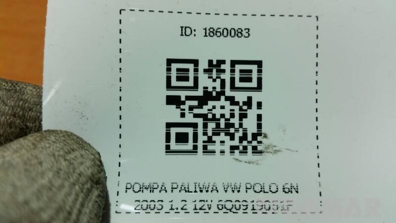 POMPA PALIWA VW POLO 6N 2003 1.2 12V 6Q0919051F