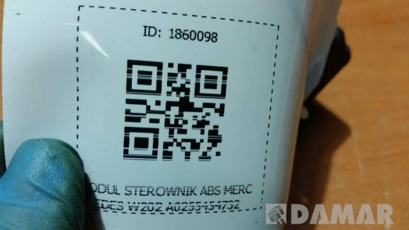 A0255454732 MODUL STEROWNIK ABS MERCEDES W202