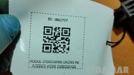 2088200426 MODUL STEROWNIK DRZWI MERCEDES W208