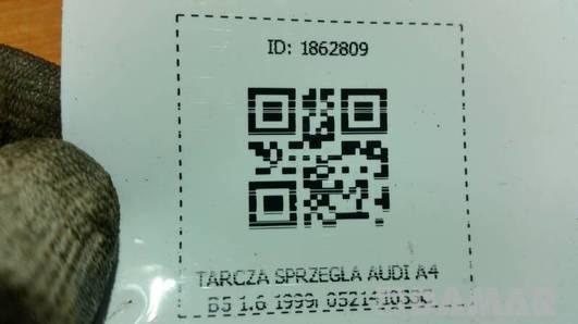 052141033C TARCZA SPRZEGLA AUDI A4 B5 1.6 1999r