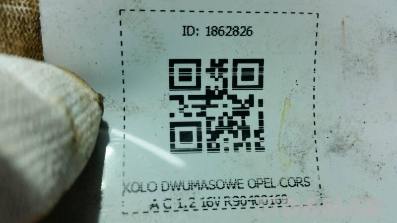 KOLO DWUMASOWE OPEL CORSA C 1.2 16V R90400169