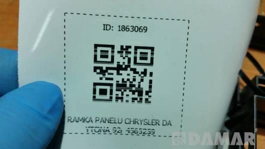 4565259 RAMKA PANELU CHRYSLER DAYTONA 92r