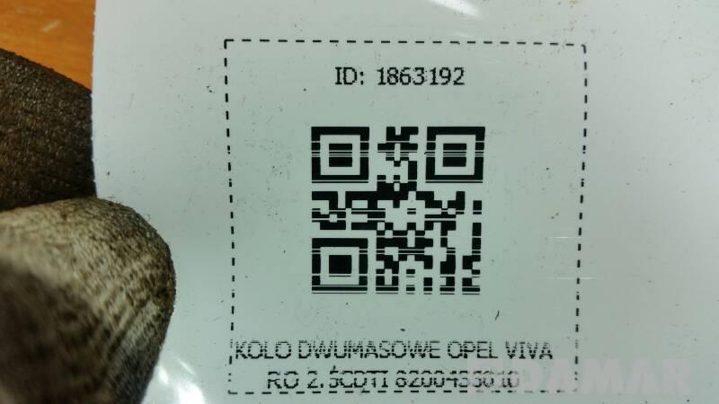 8200369837 TARCZA SPRZEGLO OPEL VIVARO 2.5CDTI 06r