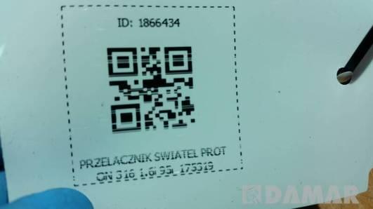 175319 PRZELACZNIK SWIATEL PROTON 316 1.6i 95R