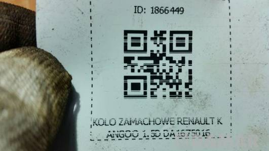 DA1675016 KOLO ZAMACHOWE RENAULT KANGOO 1.5D