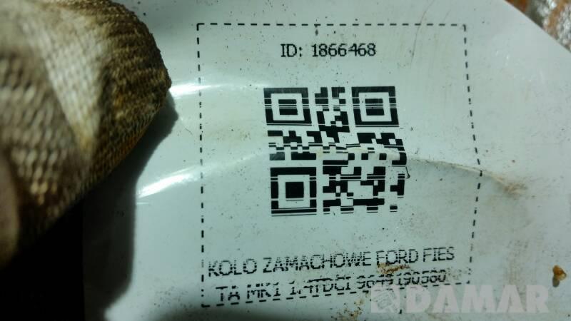 9649190580 KOLO ZAMACHOWE FORD FIESTA MK1 1.4TDCI