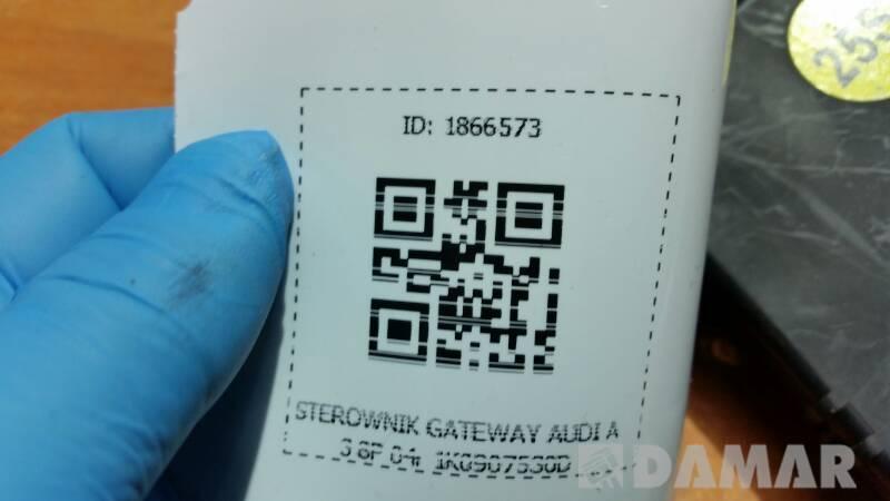 1K0907530D STEROWNIK GATEWAY AUDI A3 8P 04r