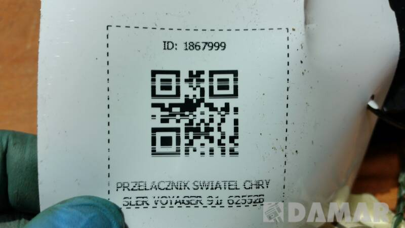 62552B PRZELACZNIK SWIATEL CHRYSLER VOYAGER 91r