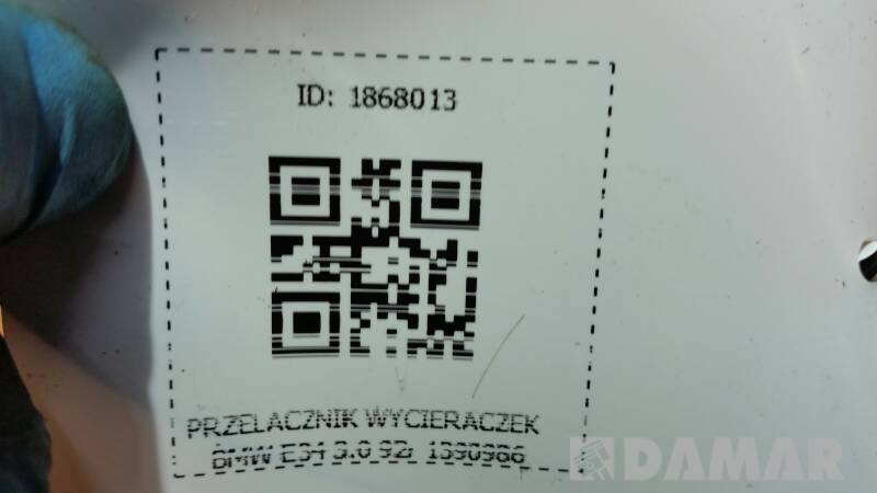 PRZELACZNIK WYCIERACZEK BMW E34 3.0 92r 1390986