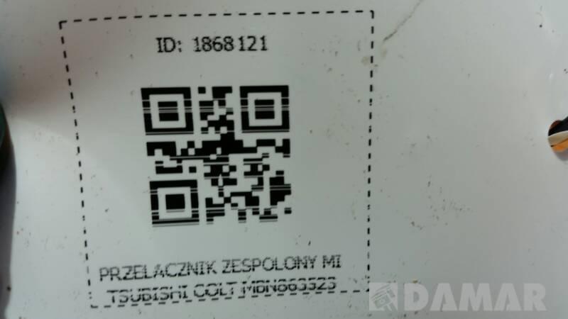 PRZELACZNIK ZESPOLONY MITSUBISHI COLT MBN863523