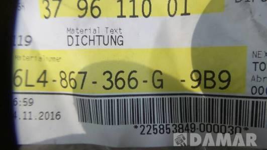6L4867366G USZCZELKA DRZWI SEAT IBIZA