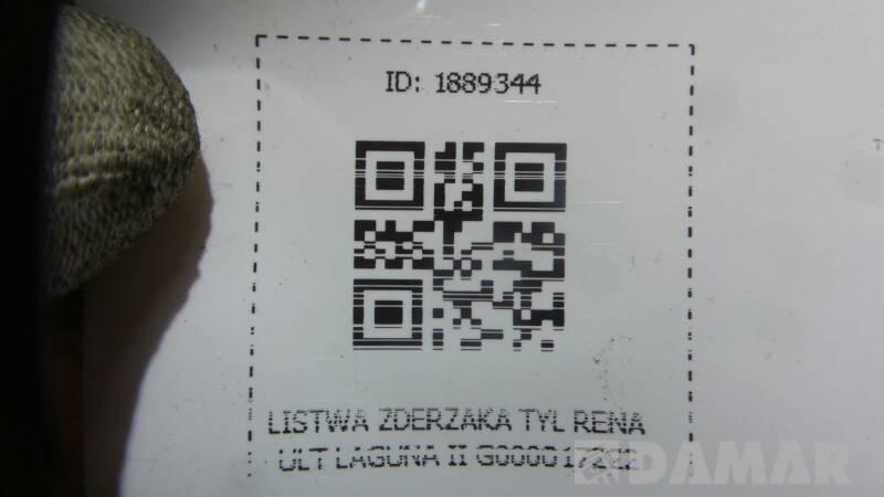 G000017222 LISTWA ZDERZAKA TYL RENAULT LAGUNA II