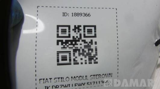 51711366 MODUL STEROWNIK DRZWI LEWY  FIAT STILO