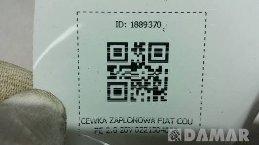 0221304006 CEWKA ZAPLONOWA FIAT COUPE 2.0 20V