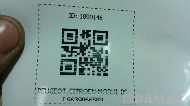 9639066580 PEUGEOT,CITROEN-MODUŁ BSI