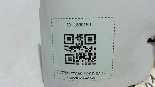 LICZNIK ZEGAR FORD KA 1.3 97KB10849AG
