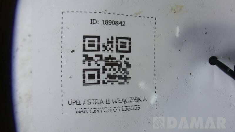 09138059 WLACZNIK AWARYJNYCH OPEL ASTRA II