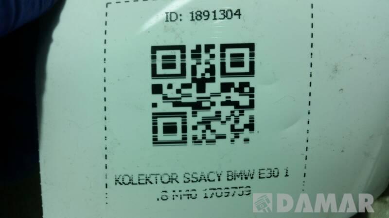 17097959 KOLEKTOR SSACY BMW E30 1.8 M40