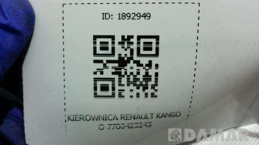 KIEROWNICA RENAULT KANGOO 7700423243