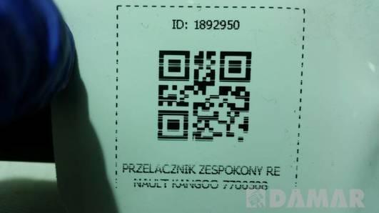 PRZELACZNIK ZESPOKONY RENAULT KANGOO 7700308735B