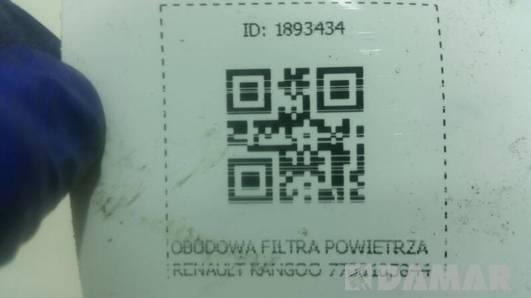 7700105844 OBUDOWA FILTRA POWIETRZA KANGOO