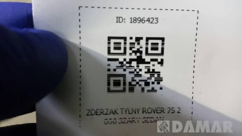 ZDERZAK TYLNY ROVER 75 2000 SZARY SEDAN