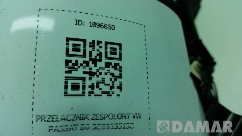PRZELACZNIK ZESPOLONY VW PASSAT B6 3C9953513C