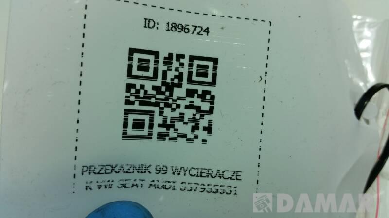357955531 PRZEKAZNIK 99 WYCIERACZEK VW SEAT AUDI