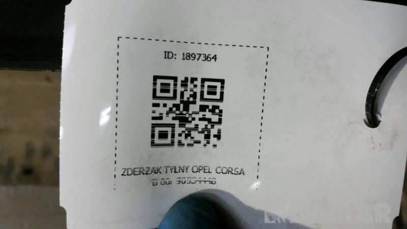 ZDERZAK TYLNY OPEL CORSA B 00r 90534448