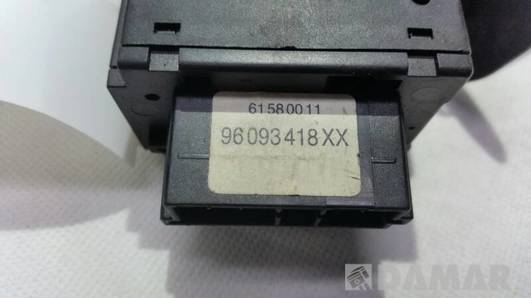 96093418XX PRZELACZNIK WYCIERACZEK PEUGEOT 406 405