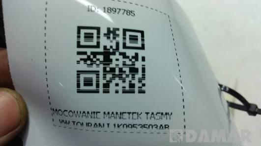 MOCOWANIE MANETEK TASMY VW TOURAN I 1K0953503AB