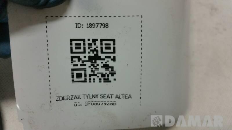 ZDERZAK TYLNY PDC SEAT ALTEA 05r 5P0807928B
