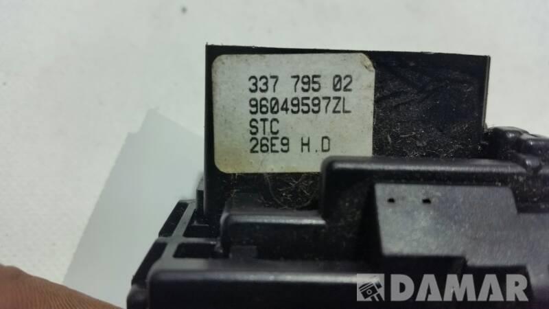 96049597ZL PRZELACZNIK WYCIERACZEK PEUGEOT 206