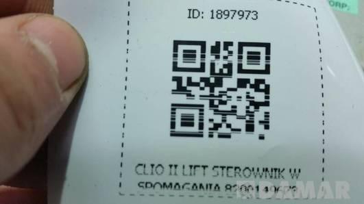 8200149673 STEROWNIK WSPOMAGANIA CLIO II LIFT